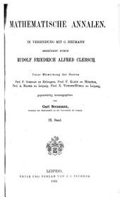 Mathematische Annalen: Volume 9