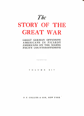 The Story of the Great War ...: Volume 14