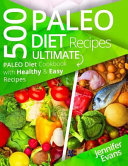 500 Paleo Diet Recipes Book