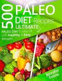500 Paleo Diet Recipes Book