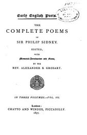 The Complete Poems of Sir Philip Sidney: Volume 3