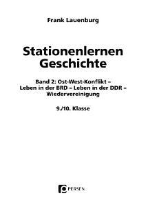 Stationenlernen Geschichte 9  10  Klasse Band 2 PDF