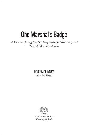 One Marshal s Badge PDF