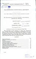 Flag protection constitutional amendment PDF