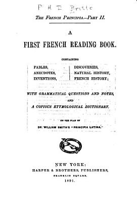 The French Principia      A first French reading book PDF