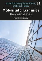 Modern Labor Economics PDF