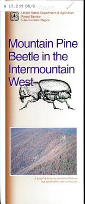 Mountain pine beetle in the intermountain west