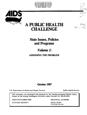 AIDS  a Public Health Challenge  Assessing the problem