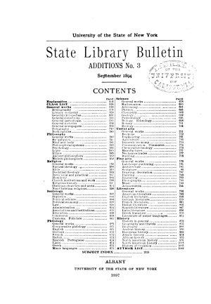 Bulletin  Additions PDF