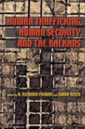 Human Trafficking, Human Security, and the Balkans