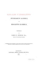 Giraldi Cambrensis Opera: Issue 21, Volume 6