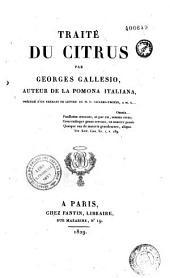 Traité du Citrus