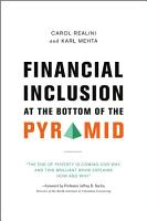 Financial Inclusion at the Bottom of the Pyramid PDF