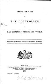 Parliamentary Papers: Volume 30