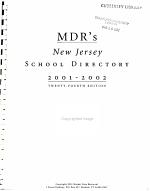 Mdr s School Directory 2001 2002 PDF