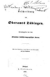 Beschreibung des Oberamts Tübingen