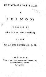 Christian Fortitude: a sermon, etc