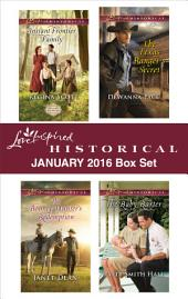 Love Inspired Historical January 2016 Box Set: Instant Frontier Family\The Bounty Hunter's Redemption\The Texas Ranger's Secret\The Baby Barter
