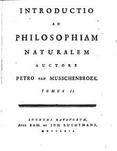 Introductio ad philosophiam naturalem: Volume 2