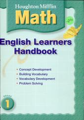 Math English Learner Handbook Lv105 PDF