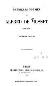 Premières poésies: 1829-1835