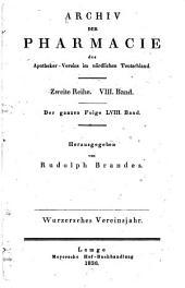 Archiv der Pharmazie und Berichte der Deutschen Pharmazeutischen Gesellschaft: Band 58