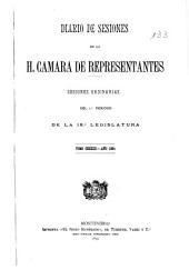 Diario de sesiones de la Cámara de Representantes: Volumen 18