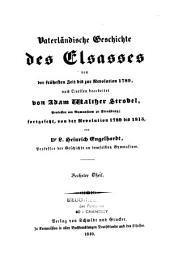 Vaterländische Geschichte des Elsasses