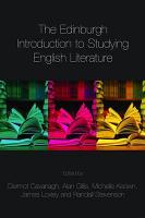 The Edinburgh Introduction to Studying English Literature PDF