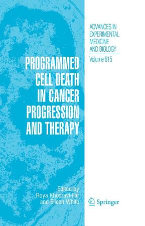 Programmed Cell Death in Cancer Progression and Therapy PDF