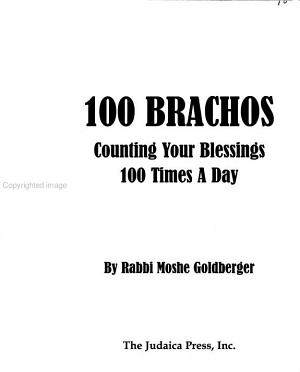 100 Brachos