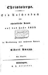 Christoterpe: Ein Taschenbuch für christliche Leser auf 1833-1853