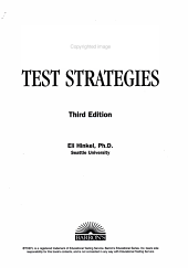 TOEFL Test Strategies with Practice Tests with Audio CDs PDF