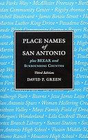 Place Names of San Antonio