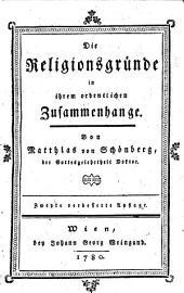 Die Religionsgründe in ihrem ordentlichen Zusammenhange