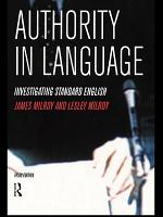 Authority in Language PDF