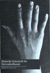 Deutsche Zeitschrift für Nervenheilkunde: Band 26