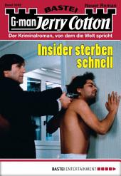 Jerry Cotton - Folge 3092: Insider sterben schnell