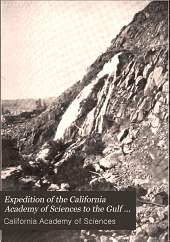 Expedition of the California Academy of Sciences to the Gulf of California in 1921 ...