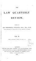 The Law Quarterly Review PDF