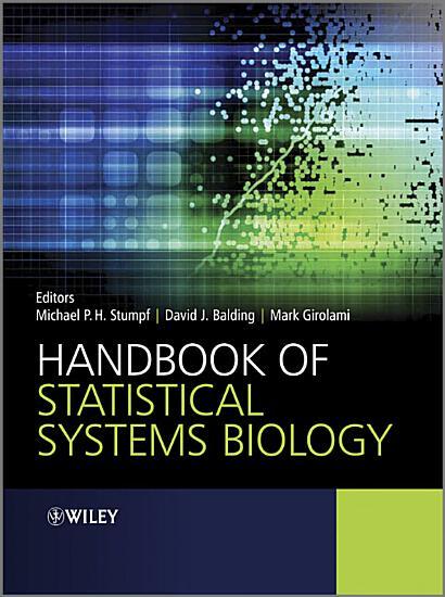 Handbook of Statistical Systems Biology PDF