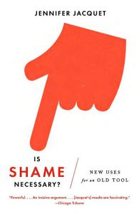 Is Shame Necessary  Book