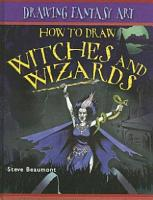 How to Draw Witches and Wizards PDF