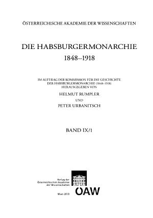 Die Habsburgermonarchie 1848 1918 PDF