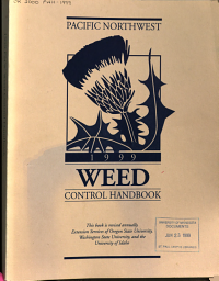 Pacific North West Weed Control Handbook PDF