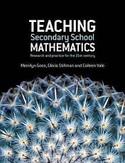 Teaching Secondary School Mathematics PDF