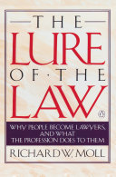 Download The Lure of the Law Book