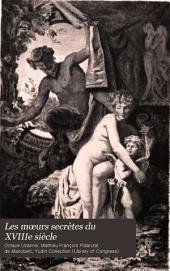 Les mœurs secrètes du XVIIIe siècle