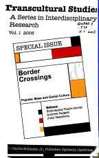 Transcultural Studies PDF