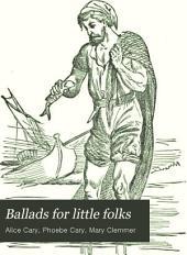 Ballads for Little Folks